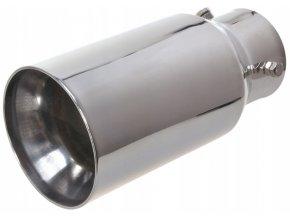 INOX 1168 Koncovka výfuku 181x89mm