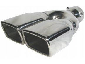 INOX 3014 Koncovka výfuku 270x183x65mm