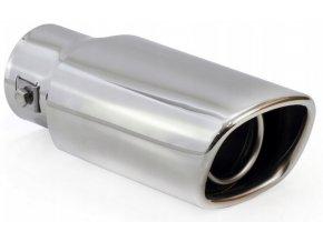 INOX MT015 Koncovka výfuku 180x81x66mm