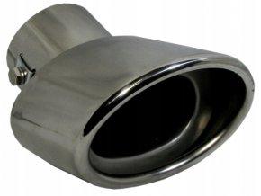 INOX H012 Koncovka výfuku 145x70x74mm