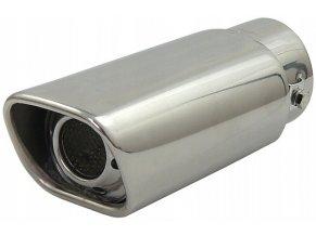 INOX M076 Koncovka výfuku 185x88x66mm