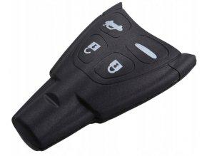 Náhradní obal klíče 4-tlačítkový, SAAB 93 9-3 95 9-5
