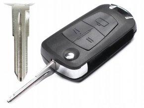 Náhradní obal klíče 3-tlačítkový OPEL ASTRA G VECTRA B (HU46)