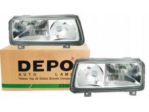 Přední světla Volkswagen VW PASSAT B4 (93-96) - sada L+P