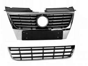 Mřížka chladiče (maska) VOLKSWAGEN VW PASSAT B6 HIGHLINE 2005-2010