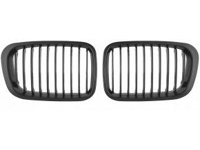 Přední maska, ledvinky, mřížky BMW 3 E46 (1998-2001) - sada L+P