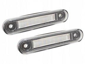 LED osvětlení SPZ Mercedes W124 W201