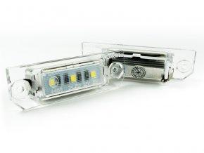 LED osvětlení SPZ VW Passat B6 CC Golf IV V VI 4 5 6 EOS