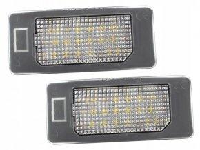 LED osvětlení SPZ Audi A4 B8 A5 Q3 Q5 TT Passat B6