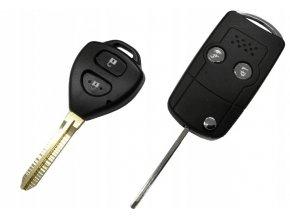 Náhradní obal klíče 2-tlačítkový, TOYOTA (TOY43)