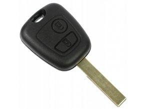 Náhradní obal klíče 2-tlačítkový, PEUGEOT 206 207 307 406 407