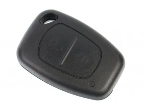 Náhradní obal klíče 2-tlačítkový, OPEL RENAULT NISSAN