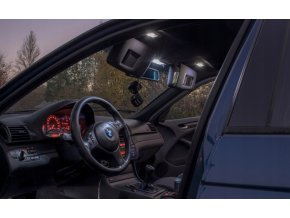 LED osvětlení interiér BMW 3 E46 - sada