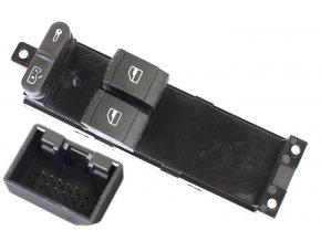 VW JETTA BORA GOLF PASSAT Spínač na stahování oken a regulator zrcátek - 1J3959857 / 000051039010
