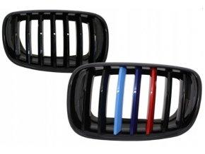 Přední maska, ledvinky, mřížky BMW X5 E70 X6 E71 - sada L+P