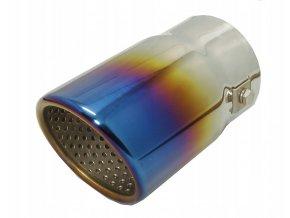 INOX MT017BLC Koncovka výfuku 125x75mm - NEO CHROM