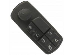 Spínač na stahování oken a regulator zrcátek Mercedes ATEGO ACTROS AXOR - 0035455113, A0015452013