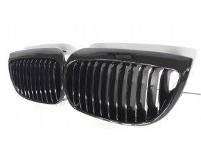Přední maska, ledvinky, mřížky BMW 1 E87 E81 E82 (04-) - sada L+P