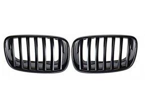 Přední maska, ledvinky, mřížky BMW X5 E70 - sada L+P