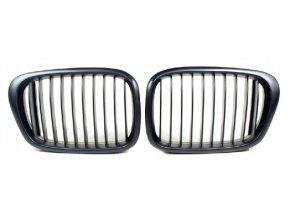 Přední maska, ledvinky, mřížky BMW 5 E39 (00-04) - sada L+P