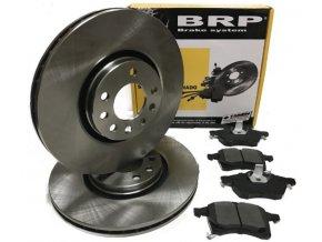BRP přední brzdové kotouče + brzdové destičky OPEL 308mm