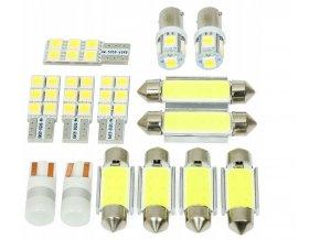 LED osvětlení interiér BMW 5 E39 SEDAN - sada