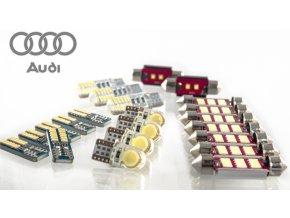 LED osvětlení interiér AUDI A5 S5 - sada