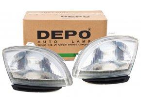 Přední světla Fiat Seicento H4 L+P DEPO