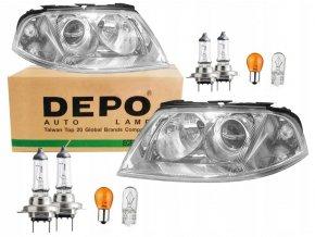 Přední světla VW Passat B5 FL (00-05) L+P DEPO