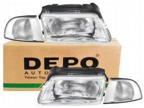 Přední světla AUDI A4 B5 (94-98) L+P DEPO