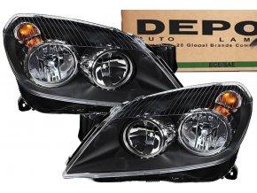 Přední světla OPEL ASTRA H III 3 (03-07) L+P DEPO