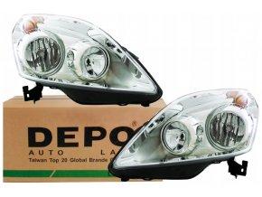 Přední světla OPEL ZAFIRA B (05-15) L+P DEPO