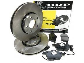 BRP Přední brzdové kotouče + brzdové destičky Audi A4 B5 B6 B7 A6 C5, Passat B5 288mm