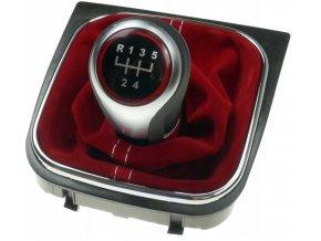 Řadící páka s manžetou VW Jetta Golf V VI 5st. - GTI