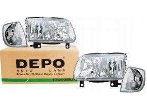 Přední světla VW POLO 6N2 (99-02) L+P DEPO