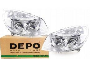 Přední světla RENAULT SCENIC (06.2003-) L+P DEPO