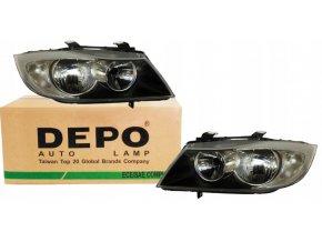 Přední světla BMW 3 E90 E91 (04-08) L+P DEPO
