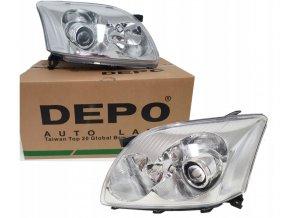 Přední světla TOYOTA AVENSIS T25 (03-06) L+P DEPO