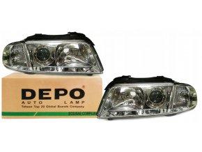 Přední světla Audi A4 B5 (99-01) L+P DEPO