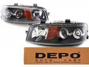 Přední světla Fiat Punto 2 II (99-03) L+P DEPO