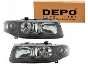Přední světla Seat Toledo 2 II, Seat Leon I (99-05) L+P DEPO