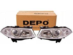 Přední světla Renault Megane 2 II (06-08) L+P DEPO