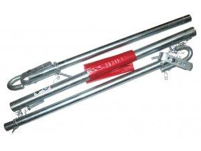 Tažná tyč, tažné zařízení 2000 kg, TUV GS 180 cm