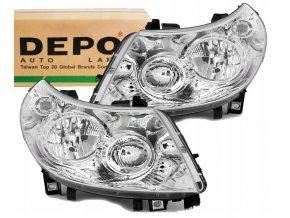 Přední světla Peugeot BOXER (06-10) L+P DEPO