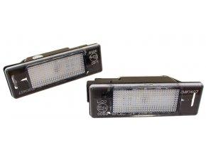 LED OSVĚTLENÍ SPZ Citroen C2 C3 C4 C5 C6 Berlingo DS3