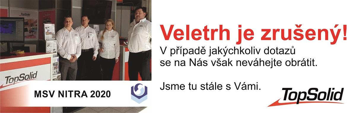 Zrušený Veletrh Nitra 2020