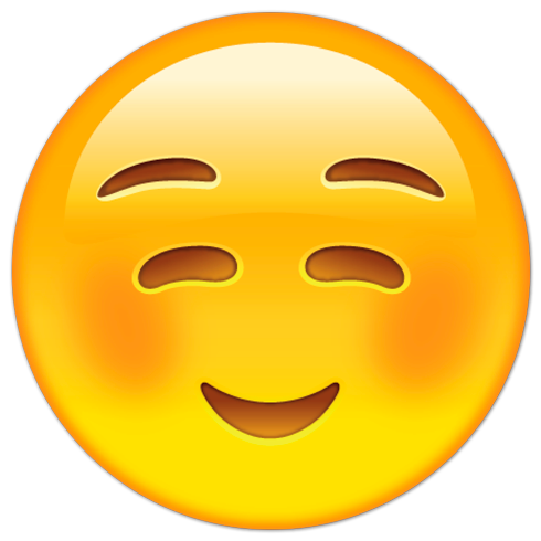 vinilos-decorativos-cara-sonriente-vergonzosa