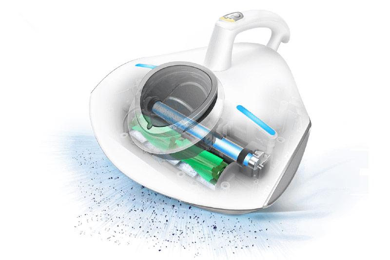 Raycop video speciální UV vysavač pro alergiky