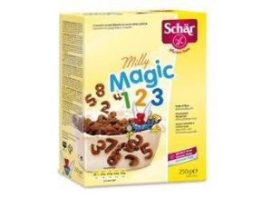 Milly magic pops 250g, čokoládové kuličky - BEZ LEPKU, BEZ MLÉKA, BEZ LAKTÓZY