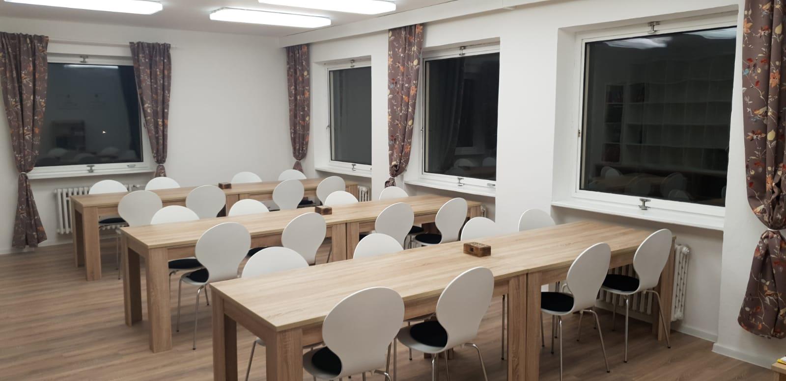 Centrum dianetiky kurzovní místnost